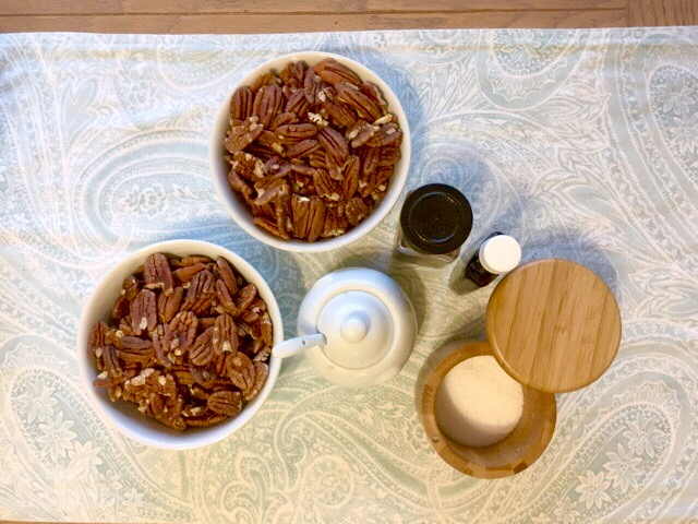 Pecan Butter Ingredients